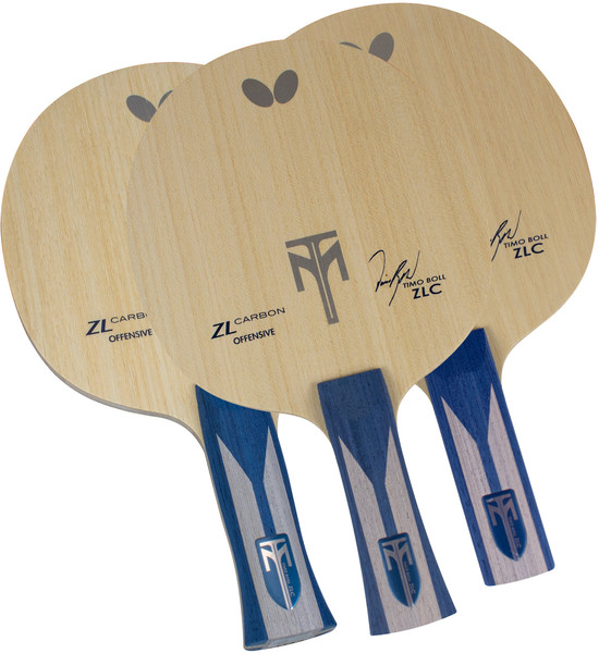 Timo Boll ZLC Blade: All Handle Types