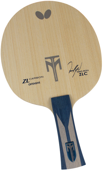 Timo Boll ZLC Blade: Flared Handle Type - Full Blade