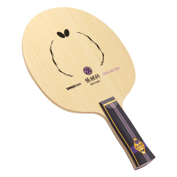 Zhang Jike T5000 Blade: Anatomic Handle Type - Full Blade