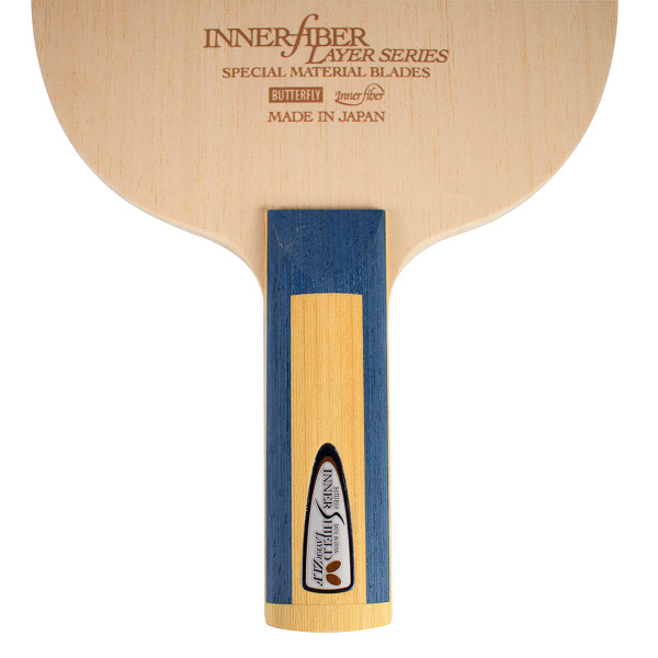 Innershield Layer ZLF Blade: Close-up of Straight Handle Type