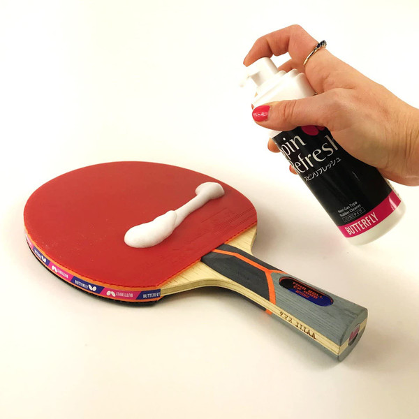 Racket Care Kit: Cleaner on Rubber