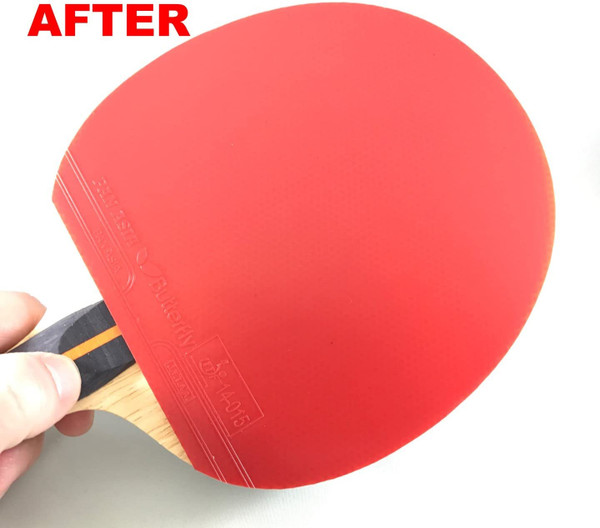 Racket Care Kit: Close-up of Clean Rubber