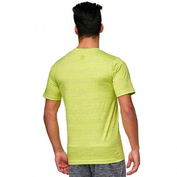 Toka T-Shirt: Lime Green, Back