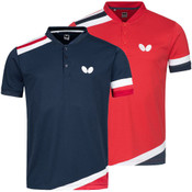 Butterfly Santo Shirts: Navy, Red