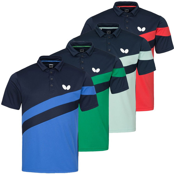 Butterfly Kisa Polo Shirts