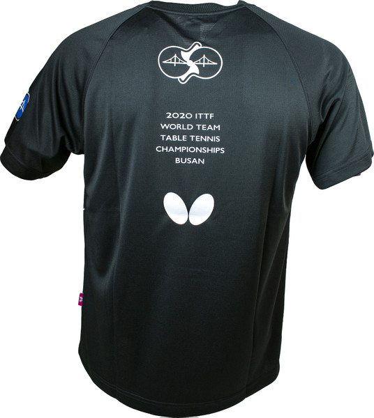 2020 WTTC T-Shirt: Black, Back