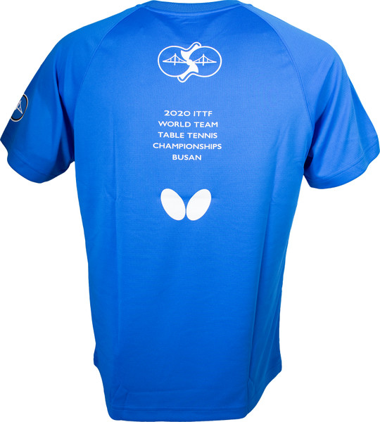 2020 WTTC T-Shirt: Blue, Back