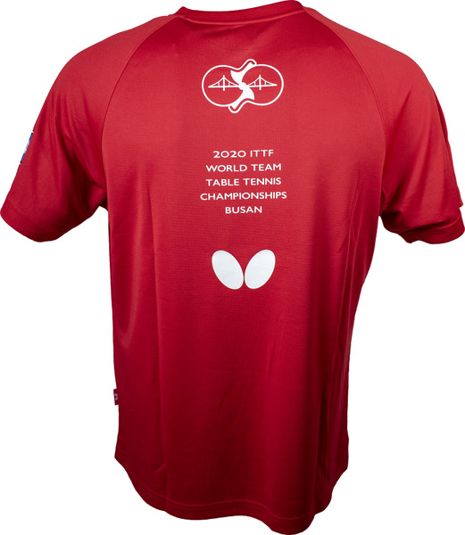 2020 WTTC T-Shirt: Red, Back