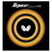 Bryce Speed FX Table Tennis Rubber