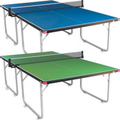 Butterfly Compact 19 Ping Pong Table, Foldable Table Tennis Table with Wheels, Comes With 3 Year Warranty Game Table, Regulation Size Ping Pong Table, Ships Assembled