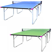 Butterfly Compact Outdoor Ping Pong Table, Features a Thick Outdoor Table Tennis Table, All Weather Ping Pong Net Included, Comes With A 3 Year Warranty, Ships Assembled, Folds for Easy Transport