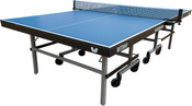 Butterfly Easyplay 22 Table Tennis Table, is a Ping Pong Table availble in Blue or Green top, with a 3 Year Warranty and features a 10 Minute Quick Assembly time and has a Ping Pong Net Included.