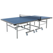Butterfly Match 22 Rollaway Table Tennis Table features a 22mm top, with a sturdy frame for schools and rec centers. It also comes with a 3 year warranty.