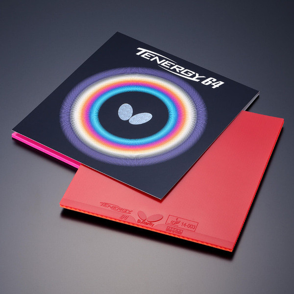 Tenergy 64 Rubber Packaging