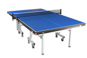 Butterfly National League 25 Ping Pong Table pictured here, is a professional ping pong table, that features a 10 minute quick assembly while having a 25mm top to make it a tournament grade table.
