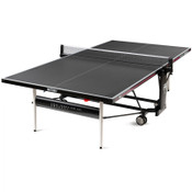 Butterfly Timo Boll Crossline Outdoor Ping Pong Table is new for 2020. It is an outdoor table that is made in Germany and features a a gray top, 3 year warranty and adjustable net set.